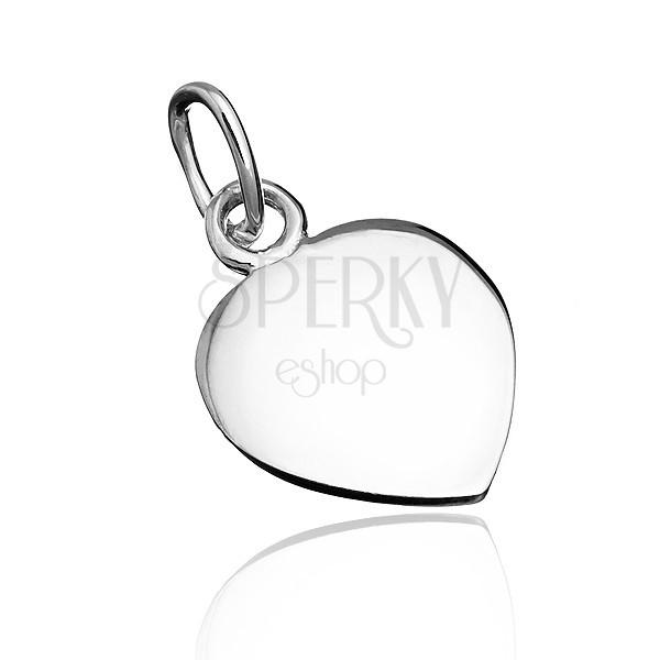 925 ezüst medál - lapos érme spiccel