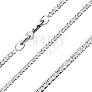 Ezüst nyaklánc - sűrű láncszemek, 1,7 mm