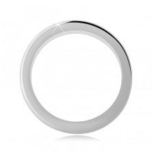 925 ezüst gyűrű - vastagabb karikagyűrű fényes felülettel