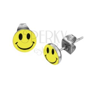Kör alakú fülbevaló - smile