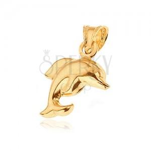 Arany medál - matt ugró delfin