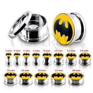 Acél alagút plug fülbe, Batman