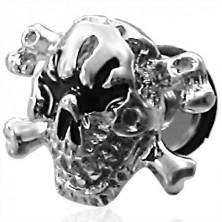 Hamis piercing - koponya és csontkereszt