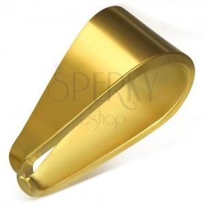 Arany színű pót horog sebészeti acélból, 4 x 9 mm