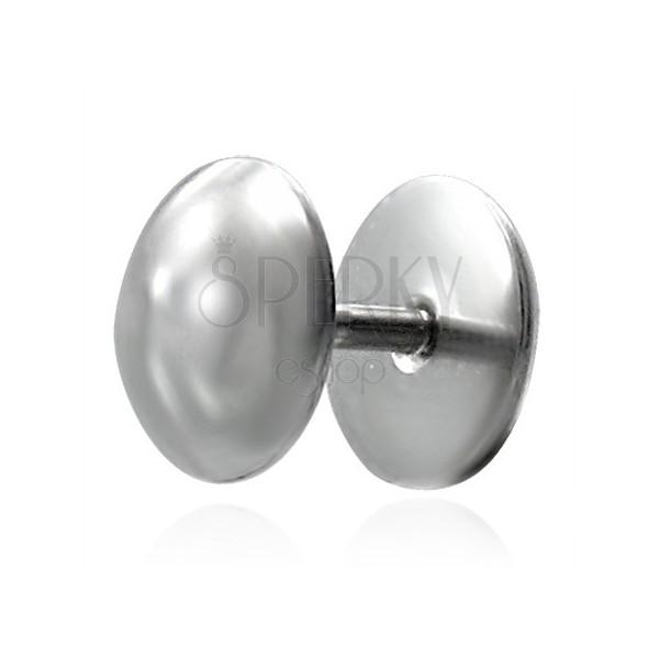 Egyszerű, ezüst labret