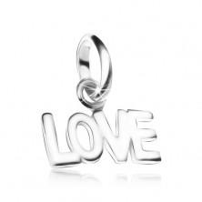 LOVE medál 925 ezüstből