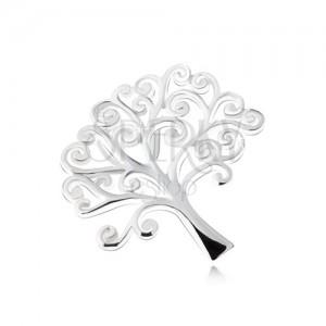 Fényes élet fája medál, 925 ezüstből
