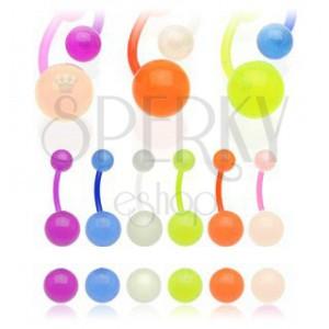 Golyócska köldökpiercing - kis buborékok