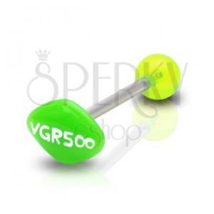 Nyelv piercing - VGR500 felirat