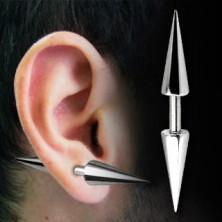 Súlyzó alakú piercing - tüske végek, többféle méretben