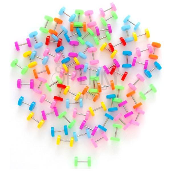 Fake plug - többféle neon színben