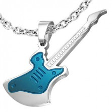 Nemesacél medál - gitár