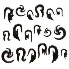 Fültágító - törzsi szimbólum