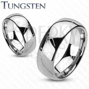 Wolfram gyűrű - ezüst, Gyűrűk Ura motívum