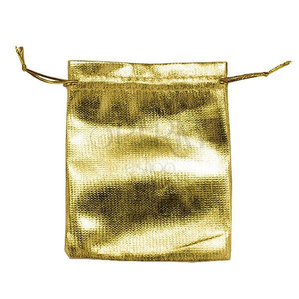 Arany ajándéktasak - fényes