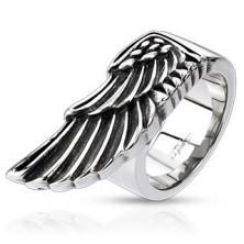 Orvosi fém gyűrű - kitárt sasszárny