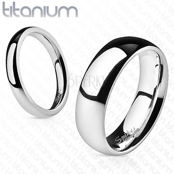 Titánium karikagyűrű, 4 mm