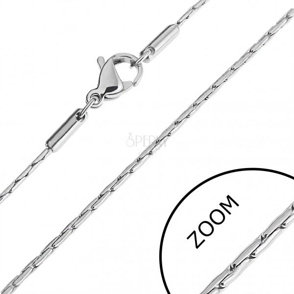 Acél nyaklánc - pálcika alakú elemek