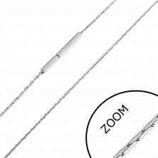 Orvosi acél lánc vékony pálcákból, 0,8 mm