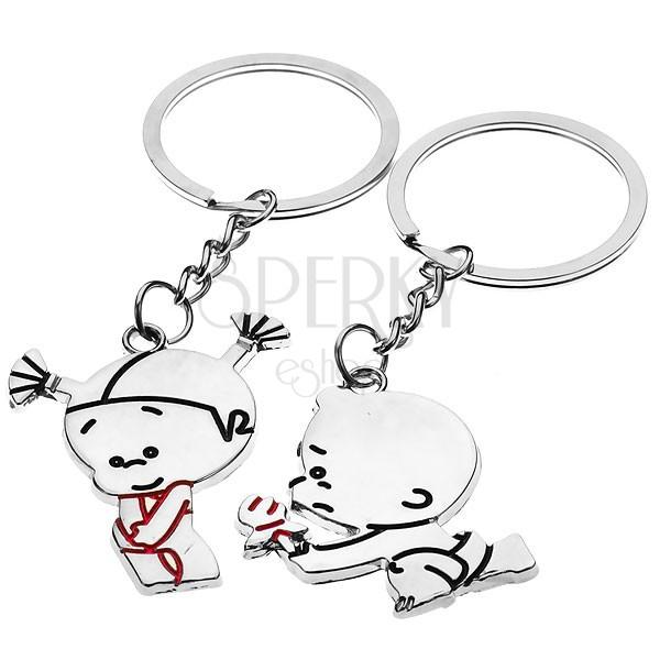 Kulcstartó készlet - szerelmes pár