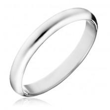 925 ezüst gyűrű - sima fényes karika