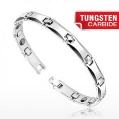Tungsten karkötő - hosszúkás H láncszemek