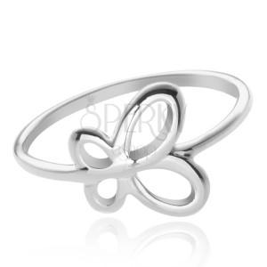 925 ezüst gyűrű - lepkeszárnyak