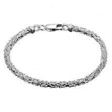 Karkötő sterling ezüstből - bizánci minta